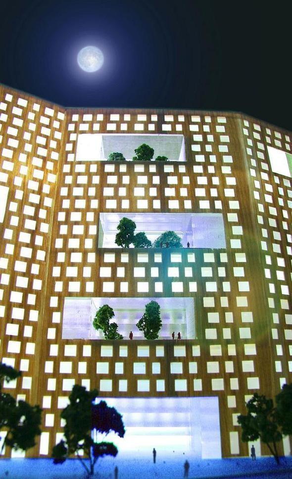Изображение 3. В Москве построят многоэтажку с зелёными дворами на разных этажах.. Изображение № 4.
