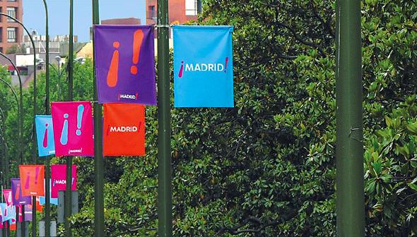 Город в образе: Авторы логотипов Амстердама, Мадрида и Пулы — о брендинге города. Изображение № 22.
