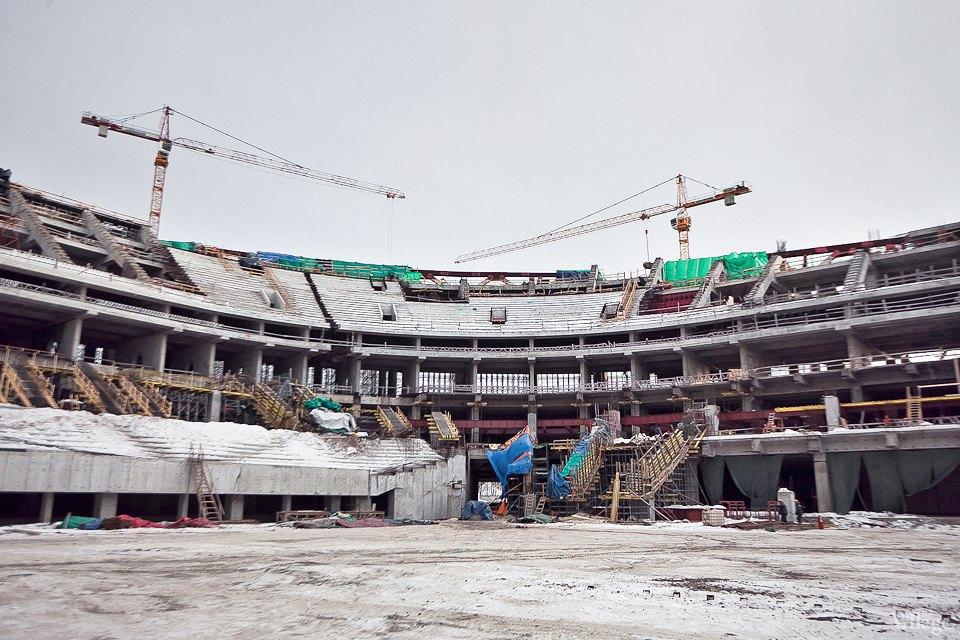 Фоторепортаж: Стадион «Зенит-Арена» изнутри. Изображение № 17.