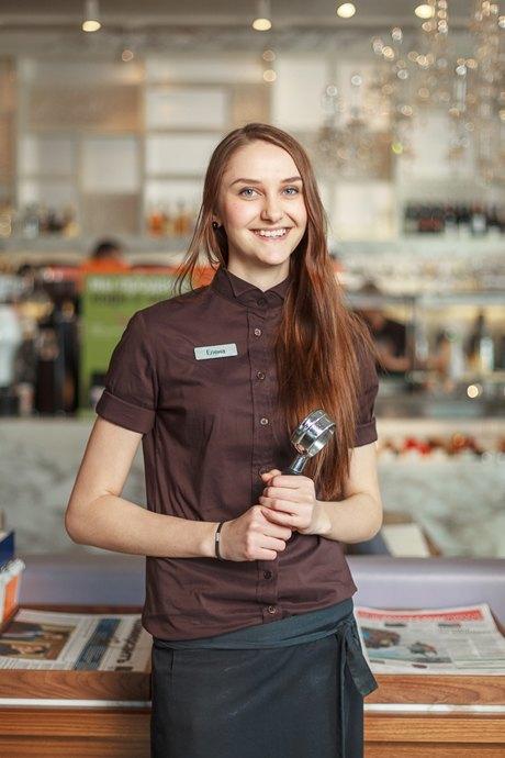 работа для девушки официанткой в москве