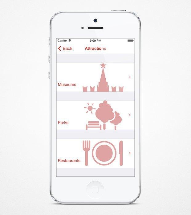 Вышло приложение-гид по Москве для иностранцев. Изображение № 3.