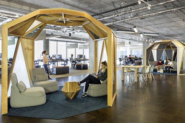 Новые подходы корганизации офисного пространства. Изображение № 3.
