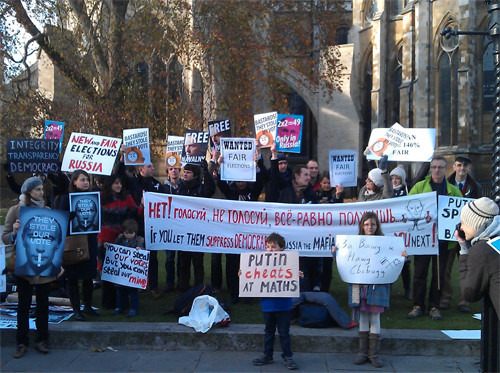 Онлайн-трансляция (Петербург): Митинги за честные выборы. Изображение № 50.