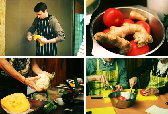 Время есть: Репортаж с аюрведического кулинарного мастер-класса. Изображение № 3.