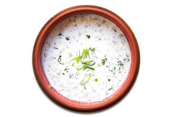 Сезонное меню: Холодные супы в ресторанах Петербурга. Изображение № 31.