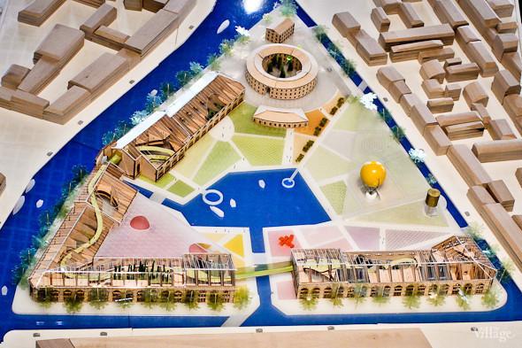 Макет концепции реконструкции острова от архитектурного бюро Work AC. Фотография: Артем Голощапов. Изображение № 39.