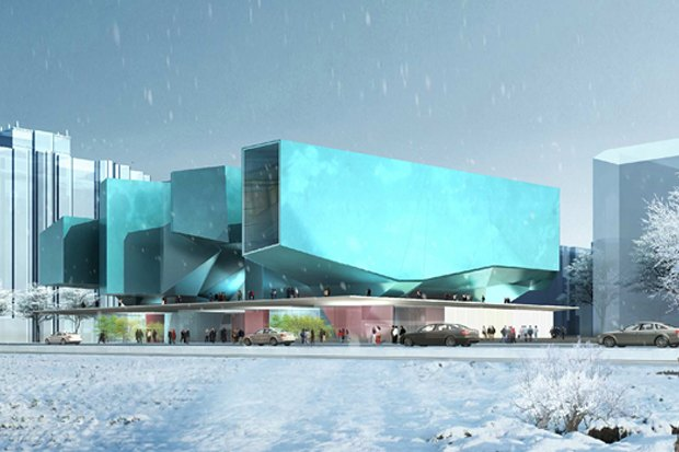 Представлены шесть проектов нового здания Политехнического музея. Изображение № 26.