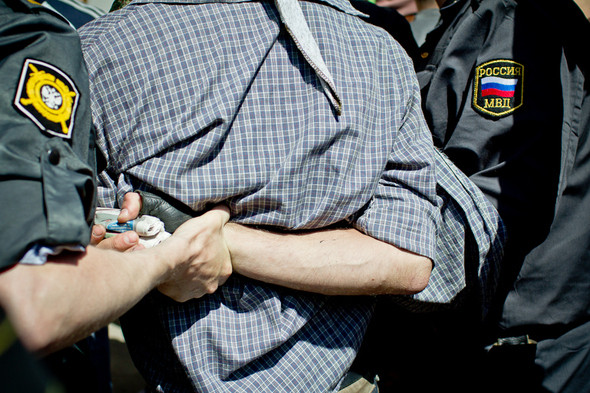 Сopwatch: Действия полиции на гей-параде на Манежной и Тверской площадях. Изображение № 11.