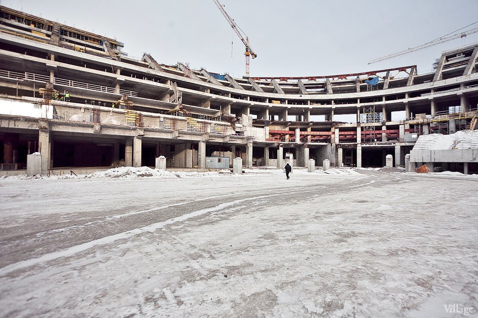 Фоторепортаж: Стадион «Зенит-Арена» изнутри. Изображение № 18.