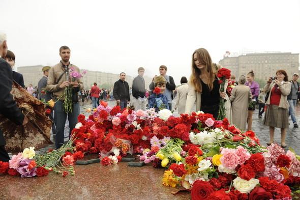 День Победы в Москве и Петербурге: Как гуляют и о чём вспоминают ветераны 9 Мая. Изображение № 6.