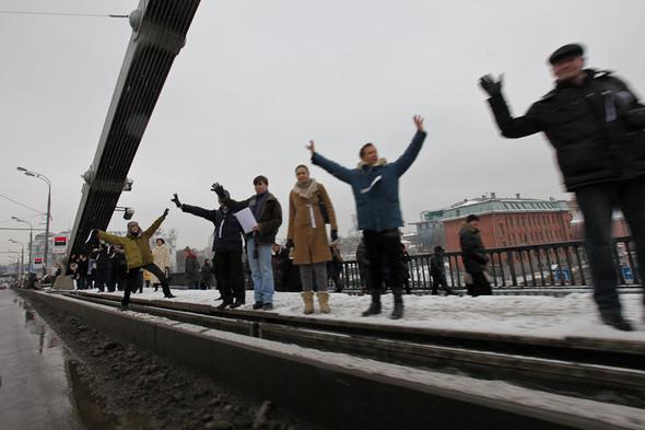 Близкое окружение: Участники акции «Белый круг» о проблемах Москвы. Изображение № 27.