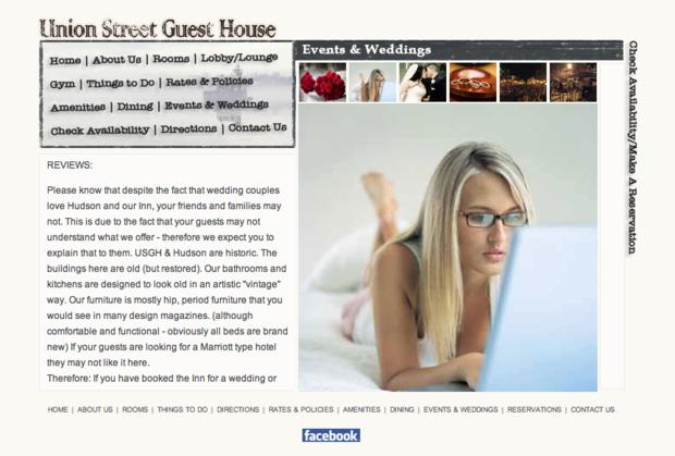 Нью-йоркский отель штрафовал молодожёнов за негативные отзывы. Изображение № 1.