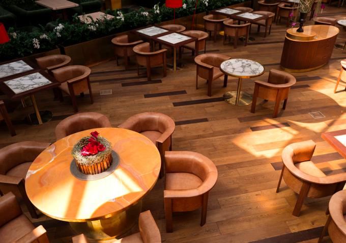 При кинотеатре «Москва» открылся ресторан «Прекрасное общество». Изображение № 3.