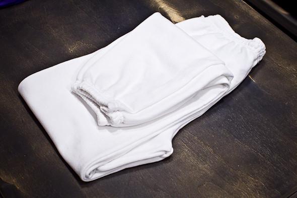 Тренировочные штаны American Apparel для занятий йогой — 800 р.. Изображение № 4.