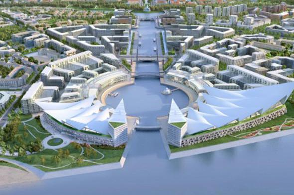Опубликован проект намыва «Новый берег» под Сестрорецком. Изображение № 2.
