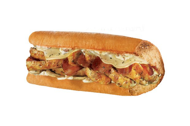 Сэндвич «Курица и карбонара». Изображение № 3.