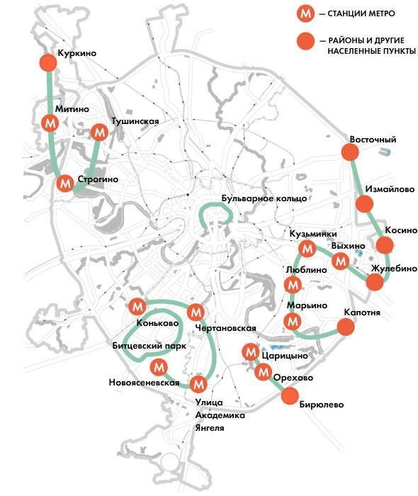 Велодорожки свяжут соседние районы Москвы. Изображение № 1.