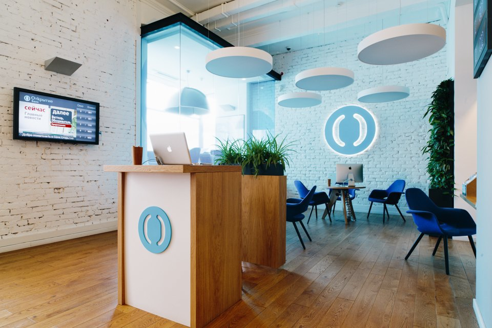Отделение банка«Открытие», совмещённое с кофейней. Изображение № 3.