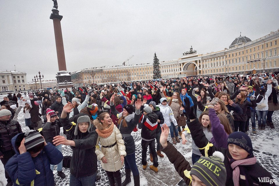 Фоторепортаж: Gangnam Style и зарядка на Дворцовой площади. Изображение № 10.