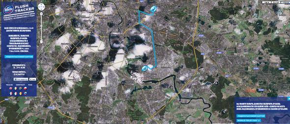 Слив засчитан: В Москве заработала игра Flush Tracker. Изображение № 3.