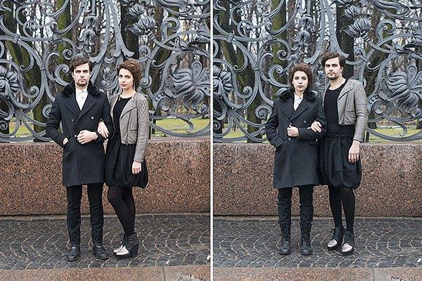 В Петербурге сняли аналог фотопроекта Switcharoo. Изображение № 4.