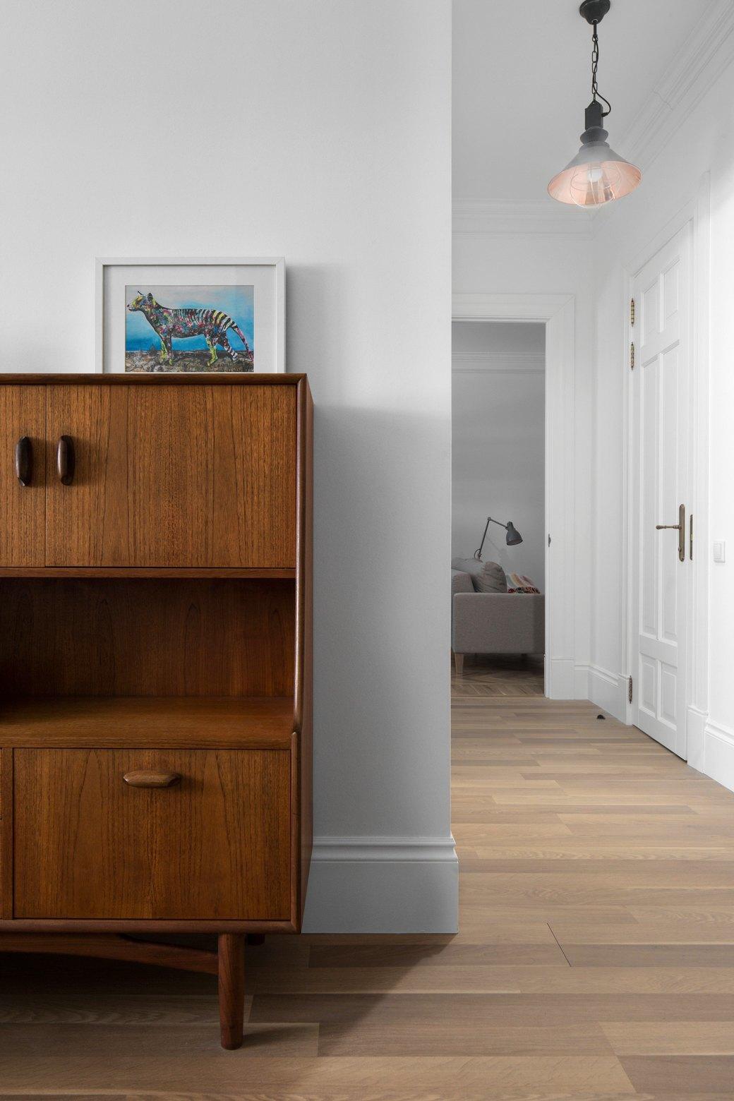Лаконичная квартира вшведском стиле вновом доме наПетроградской стороне (Петербург). Изображение № 10.