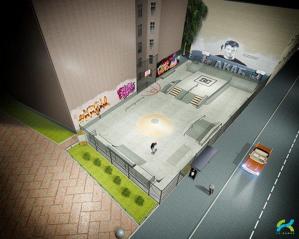 В Петербурге откроется первый бетонный скейт-парк. Изображение № 2.