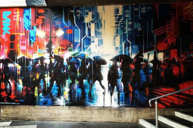 Граффити, изменившие улицы Колумбии, Франции, Турции иВенгрии. Изображение № 14.