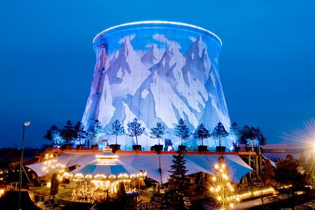 Идеи для города: Парк развлечений в атомной станции. Изображение № 3.