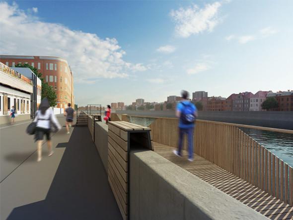 В Москве предложили построить деревянные набережные. Изображение № 5.