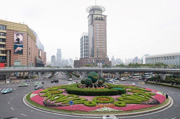 Идеи для города: Круглый пешеходный мост в Шанхае. Изображение № 13.