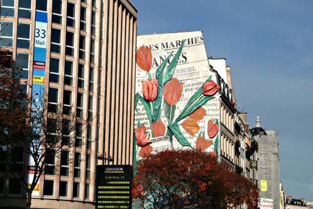 Наружная реклама в Париже. Изображение № 4.