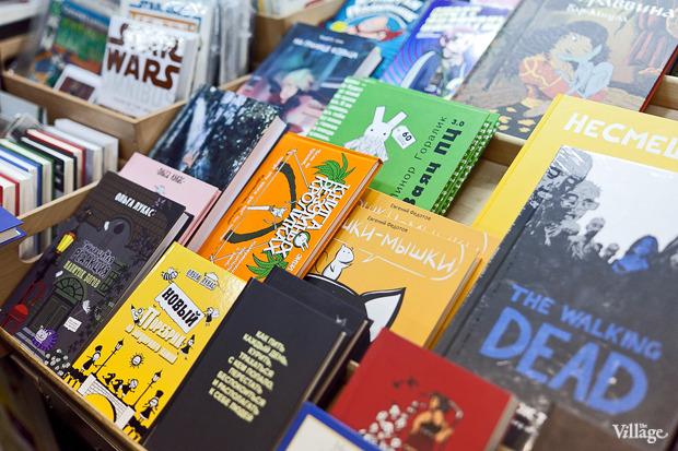 Раскадровка: 6 магазинов илавок с комиксами вПетербурге. Изображение № 37.