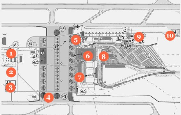 Фоторепортаж: Каким будет новый терминал Пулкова. Изображение № 1.