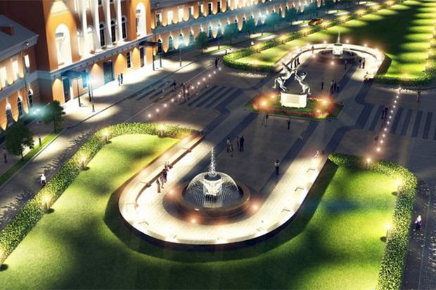 Проект развития района вокруг Конюшенной площади. Изображение № 2.