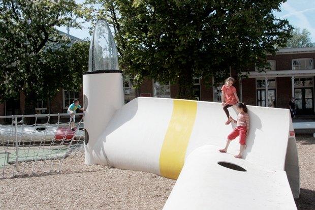 Идеи для города: Детская площадка из крыльев ветряной мельницы вРоттердаме. Изображение № 14.