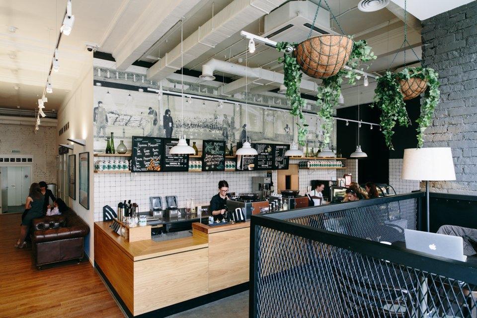 Отделение банка«Открытие», совмещённое с кофейней. Изображение № 16.