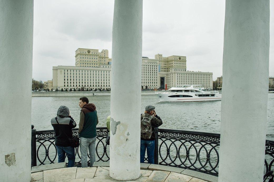 Как прошёл первый парад пассажирских теплоходов в Москве. Изображение № 10.
