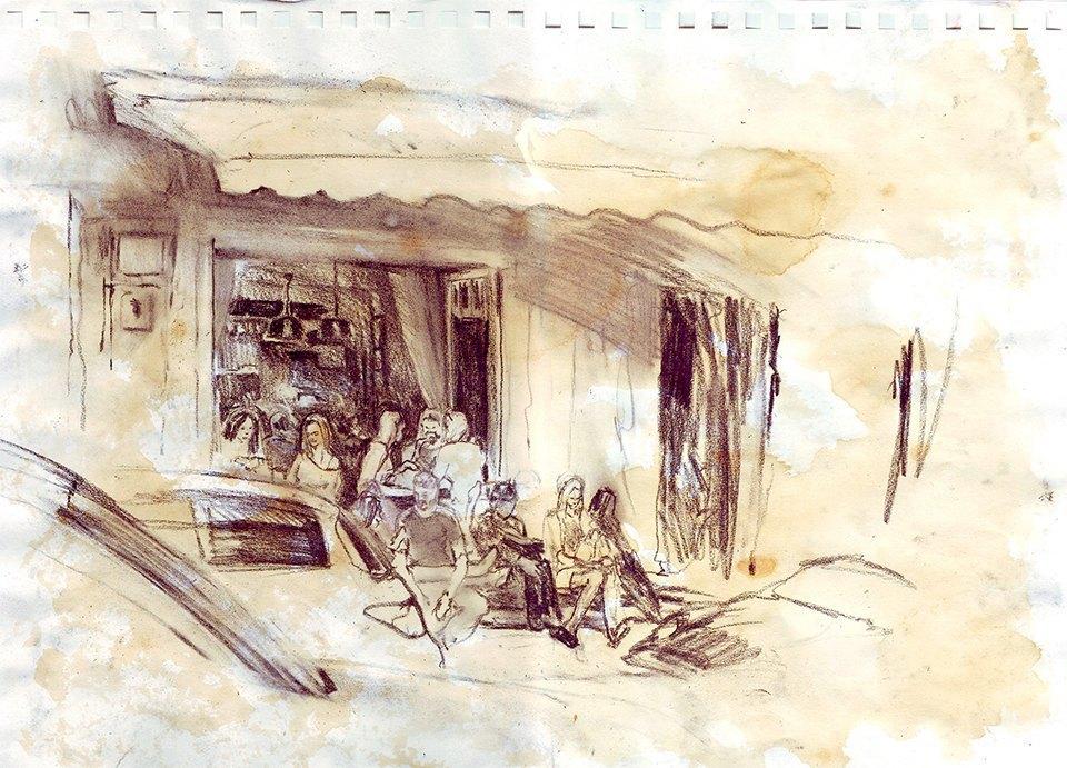Клуб рисовальщиков: Патриаршие пруды. Изображение № 2.