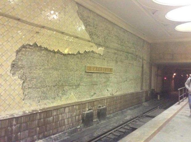 Реставрация станции метро «Киевская». Изображение № 1.