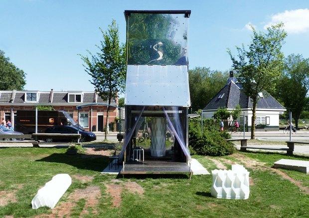 Дом печати: Как в Голландии строят здание с помощью 3D-принтера. Изображение № 1.