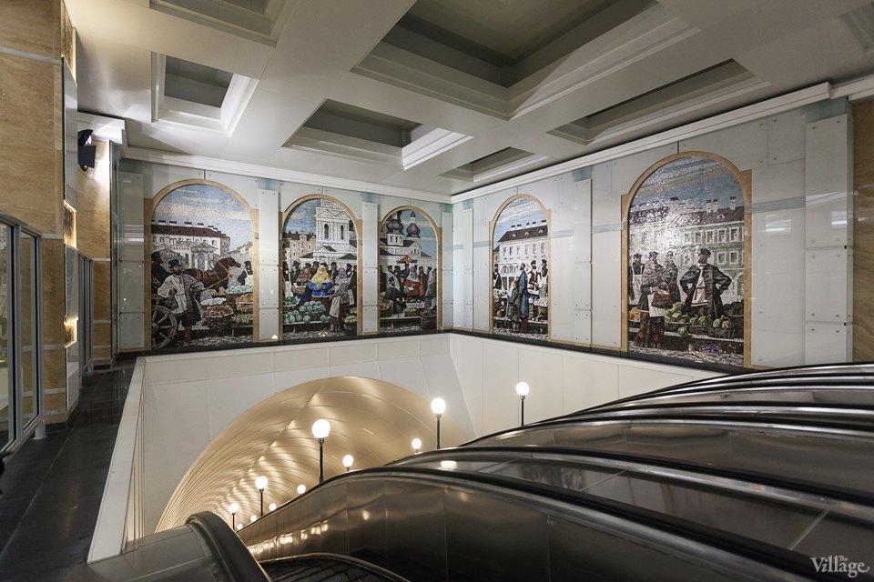 Фоторепортаж: Новый вестибюль «Спасской» изнутри. Изображение № 13.
