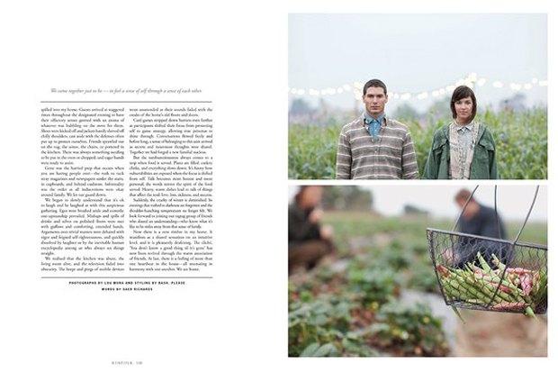 Американский журнал Kinfolk перевели на русский. Изображение № 3.