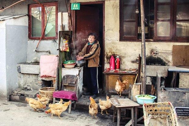 Часть целого: Старый город вШанхае. Изображение № 18.