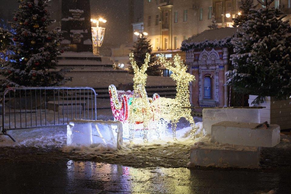 Как украсили Москву кНовому году. Изображение № 5.
