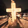 Фоторепортаж: Крещенское купание в Петербурге. Изображение № 1.