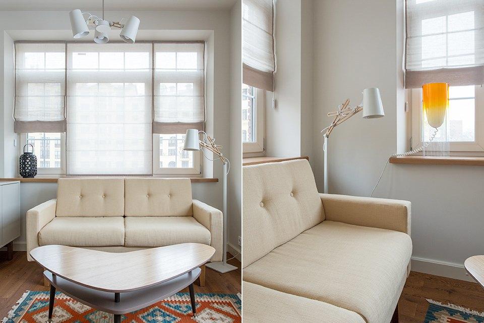 Трёхкомнатная квартира в духе модернизма на «Октябрьском поле». Изображение № 33.