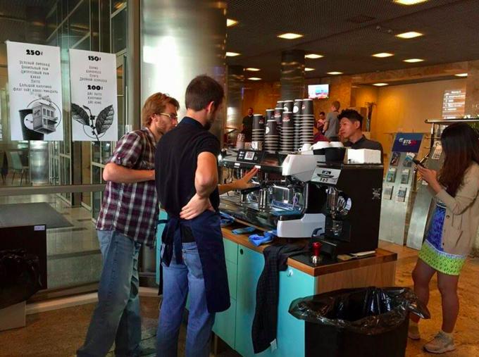 В бизнес-центре «Военторг» открылась кофейня сети Double B. Изображение № 2.