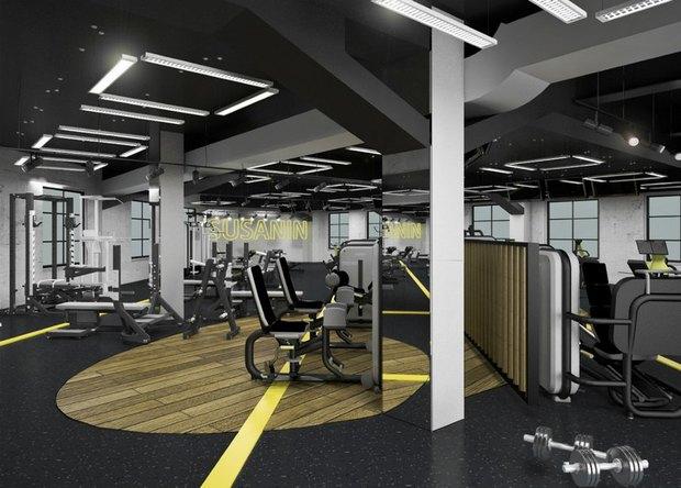 В городе открываются фитнес-клубы с кафе S-11 и интерьером братьев Архипенко. Изображение № 4.