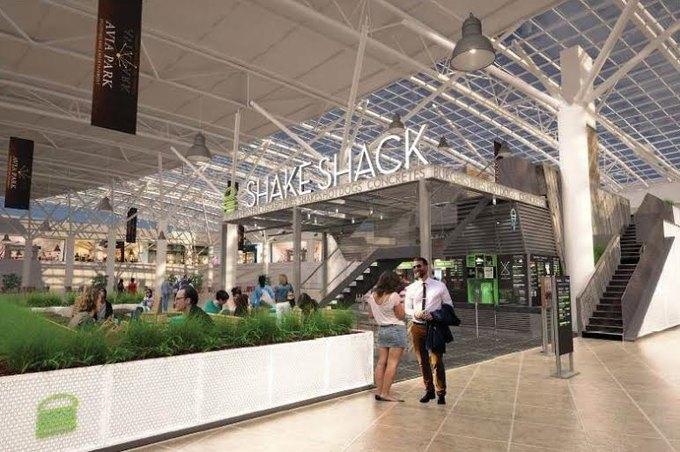 В торговом центре «Авиапарк» открывается кафе Shake Shack . Изображение № 2.